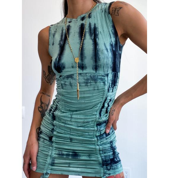 Vacation Day Tie Dye Dress