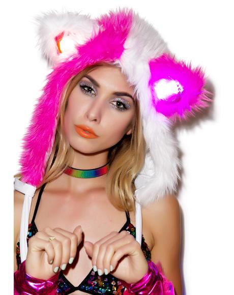 Gettin' Freaky Faux Fur Hood