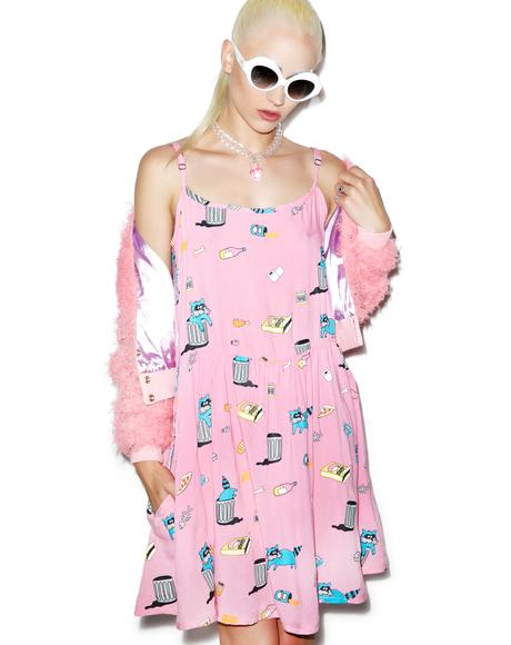 Racoon Raid Dress