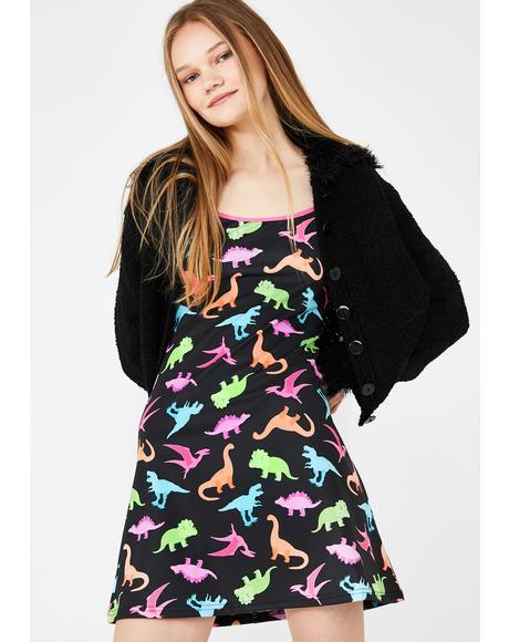 Dino-Mite Mini Dress