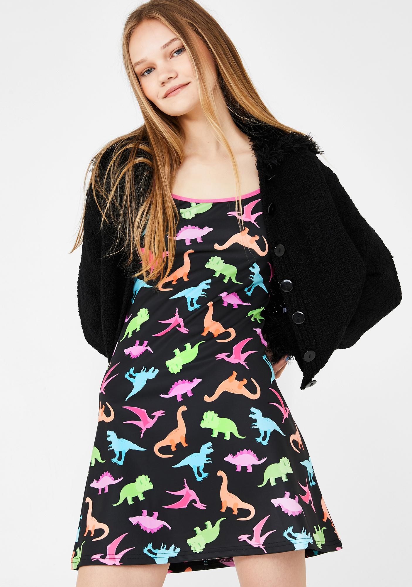 dELiA*s by Dolls Kill Dino-Mite Mini Dress