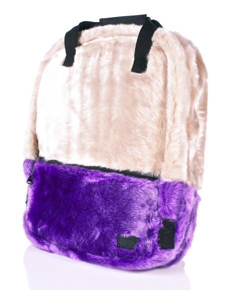 Faux Fur Nude OG Backpack