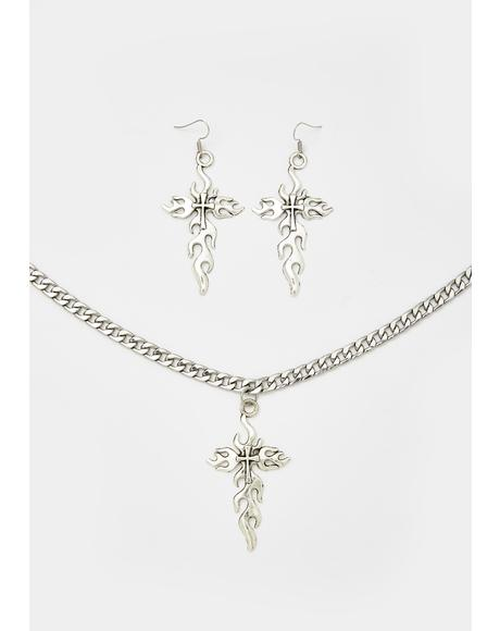 Fierce Faith Jewelry Set