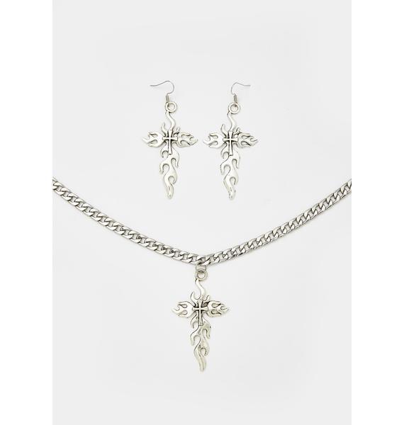 Fierce Faith Jewelry Set