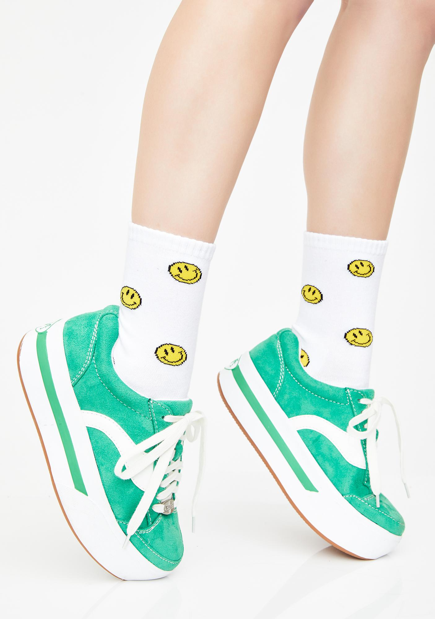 51505ad6fc09 dELiA s by Dolls Kill Whats My Age Again Skater Sneakers