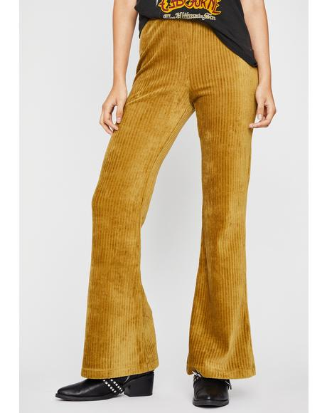Back In The Day Corduroy Flares