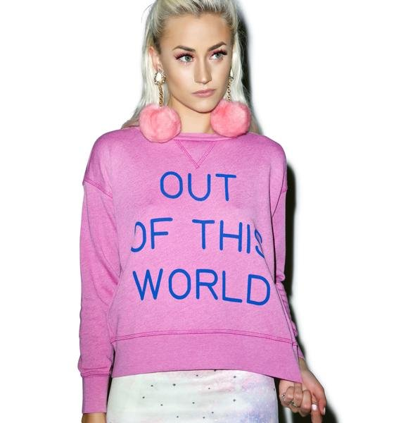 Wildfox Couture Out of This World Sloan Sweater