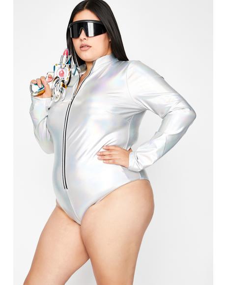 My Cosmic Cadet Holographic Bodysuit