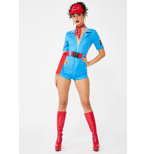 Forplay Pit Stop Hottie Costume Set