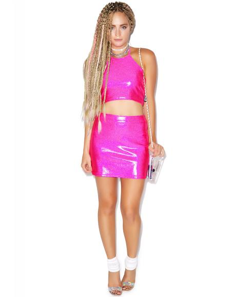 Barbae Mini Skirt