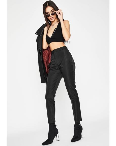 Dare To Destruct High Waist Pants