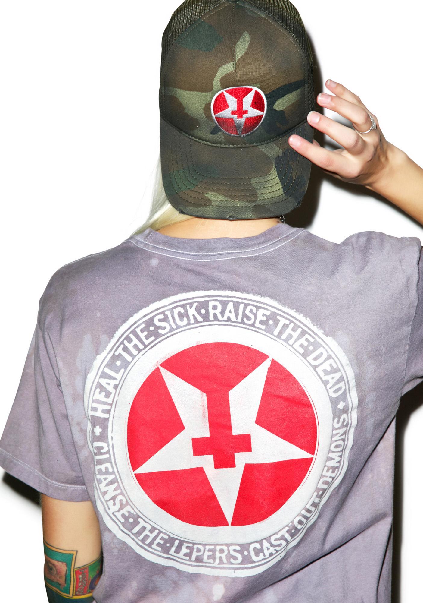 HBIC Camo Trucker Hat