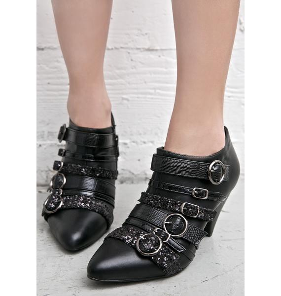 Y.R.U. Scorpio Buckled Booties