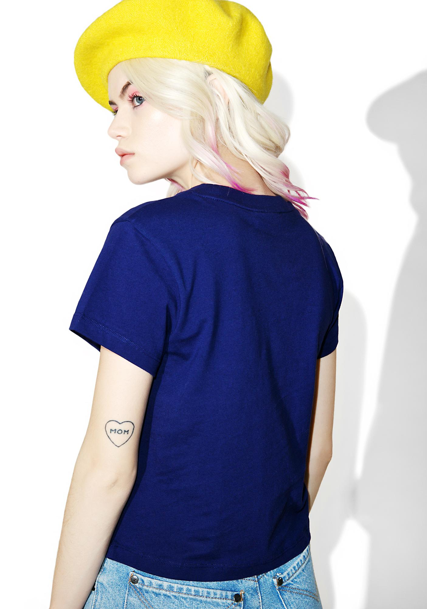 Lazy Oaf Not Interested Tee