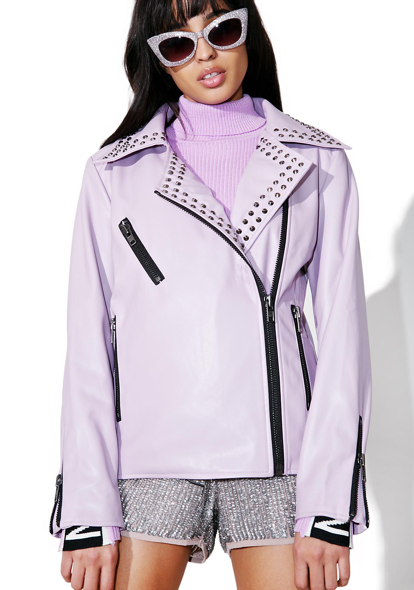 Nana Judy Dream On Leather Jacket