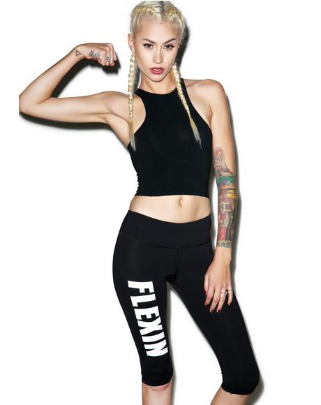 Flexin Fitness Capri Pants