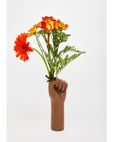 Super Grl Power Vase
