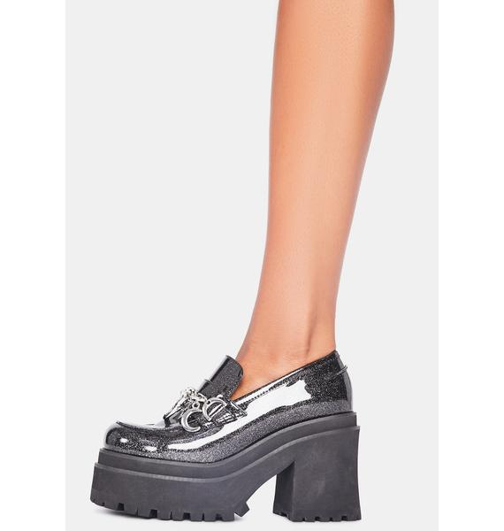 dELiA*s by Dolls Kill Light Of The Moon Platform Loafers