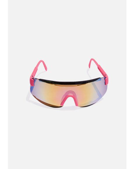 Pink Beach Sunglasses