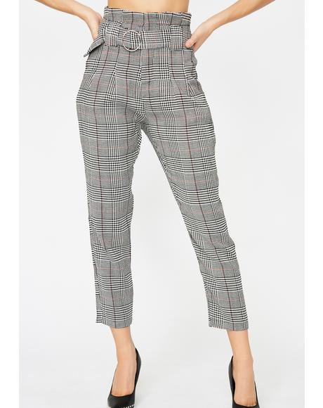 Get Paid Plaid Pants