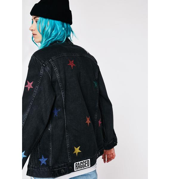 The Ragged Priest Galaxy Denim Jacket