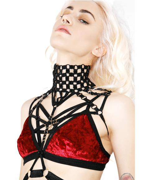 Leave A Mark High Neck Harness