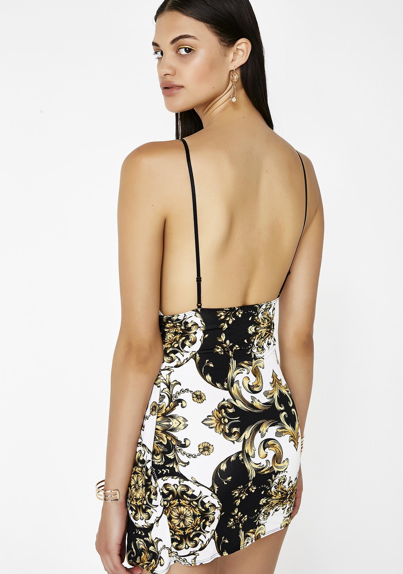You So Fancy Mini Dress