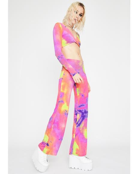 Sweet Distorted Disco Tie Dye Set