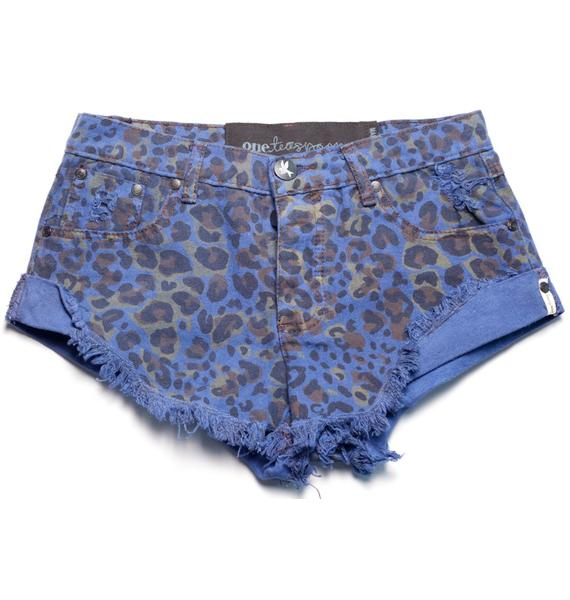 One Teaspoon Hunted Bandit Shorts