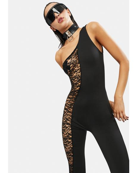 Let It All Go One Shoulder Jumpsuit