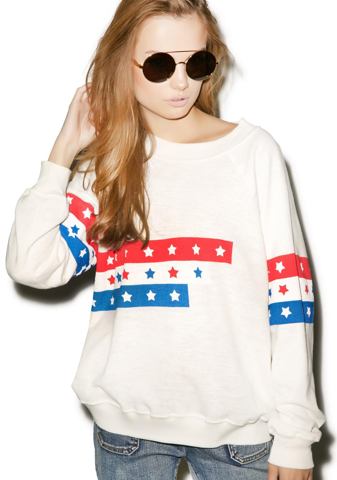 Wildfox Couture U.S. Racer Kim's Sweater