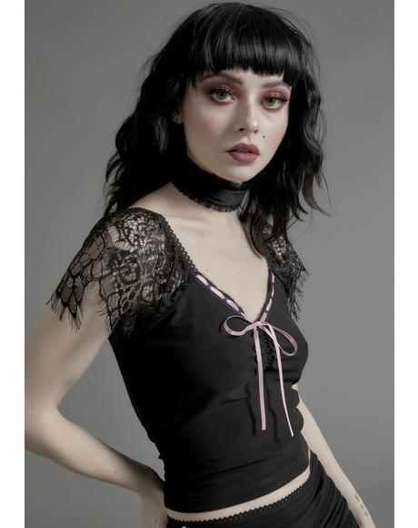Enchanted Marionette Lace Top