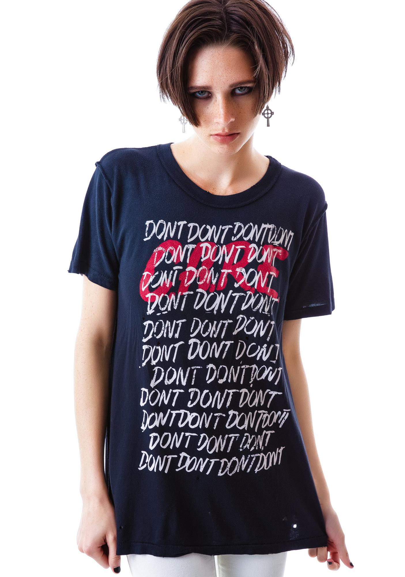 UNIF Don't Care Short Sleeves Tee