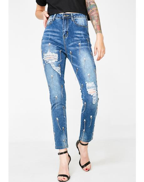 Got It Good Embellished Jeans