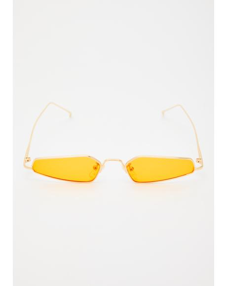 Juiced Camera Ready Abstract Sunglasses