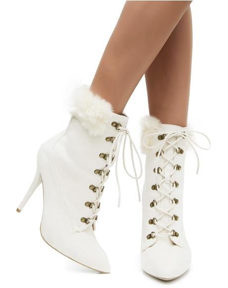 Snow Ball Booties