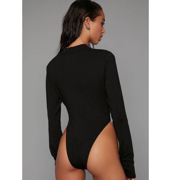 Poster Grl Stay Watching Long Sleeve Bodysuit