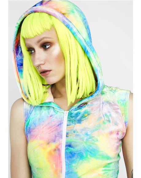 Pastel Tie-Dye Romper