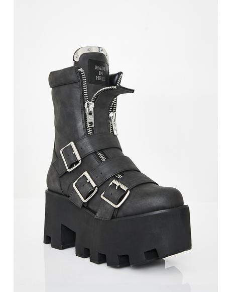 Detroit Platform Boots
