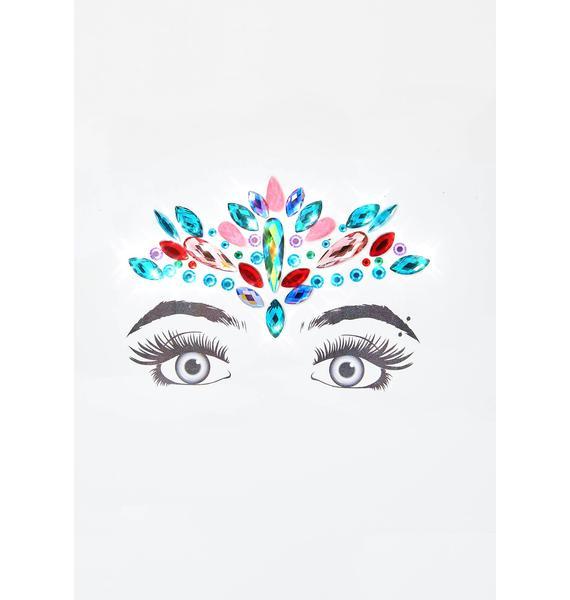 Chakra Shine Face Gems
