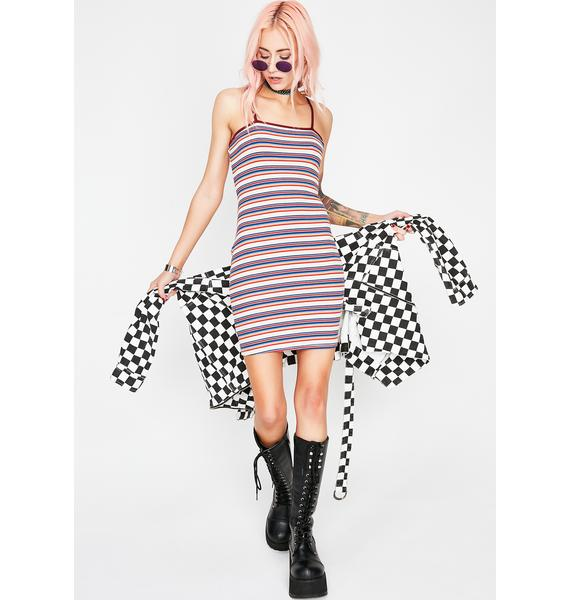 Ruby Get Into It Stripe Dress