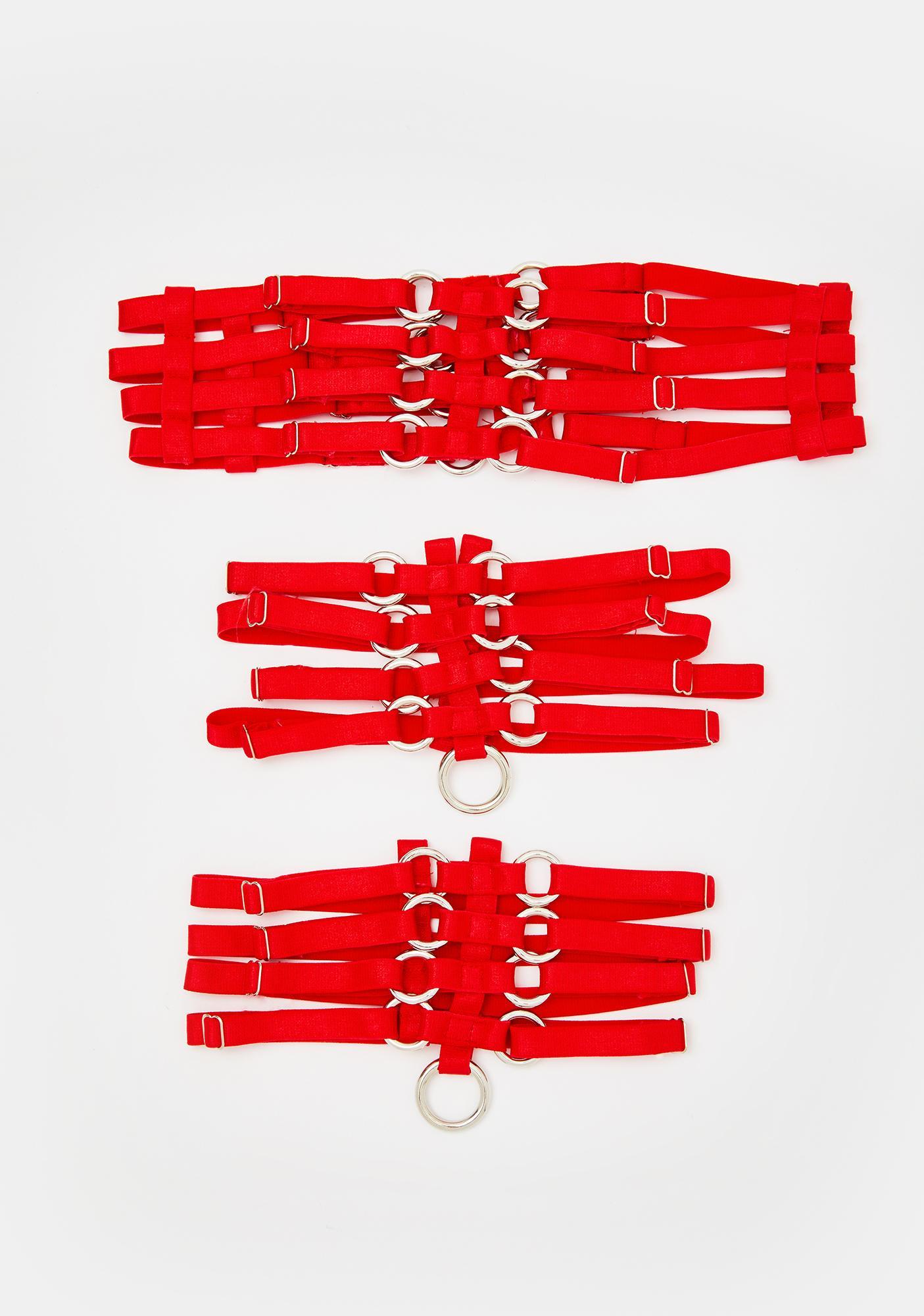 Fatal Play Garter Belt Set