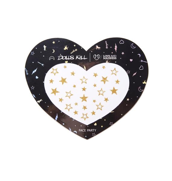 Love And Madness Star Glitter Freckles