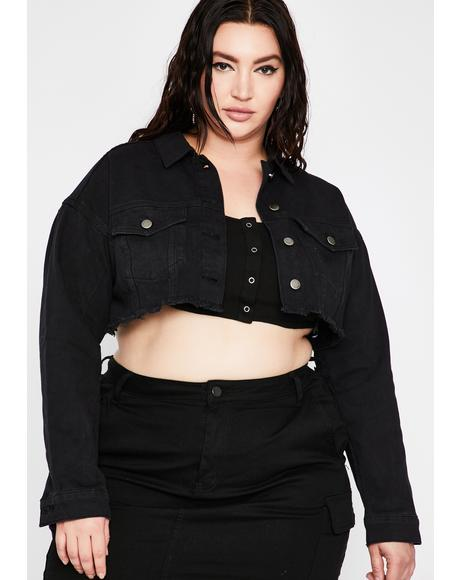 Gonna Make It Happen Cropped Jacket