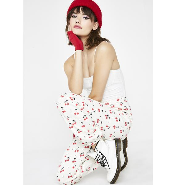 Wildfox Couture Cherry Oh Baby Easy Sweats