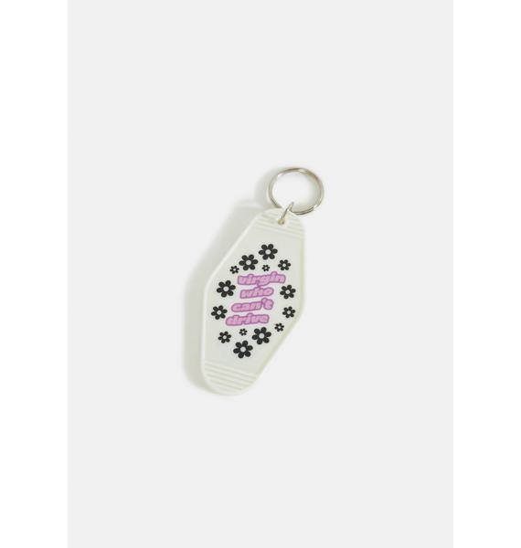 A Shop of Things Virgin Who Can't Drive Keychain