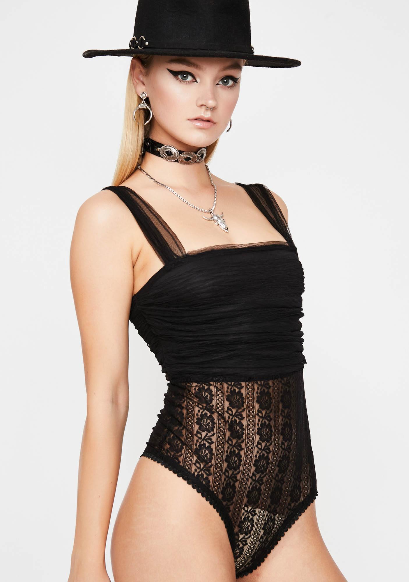 Luna Lover Lace Bodysuit