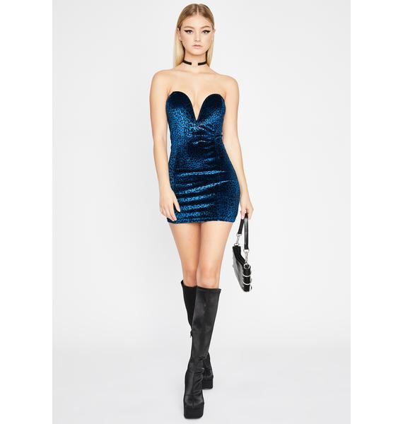 Berry Wild Nightz Mini Dress