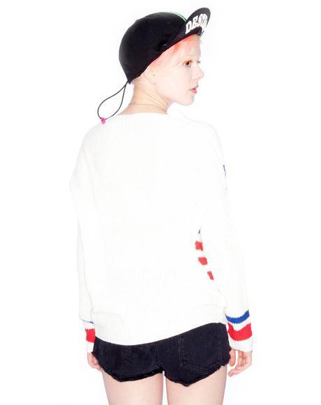 Flag Religion Sweater