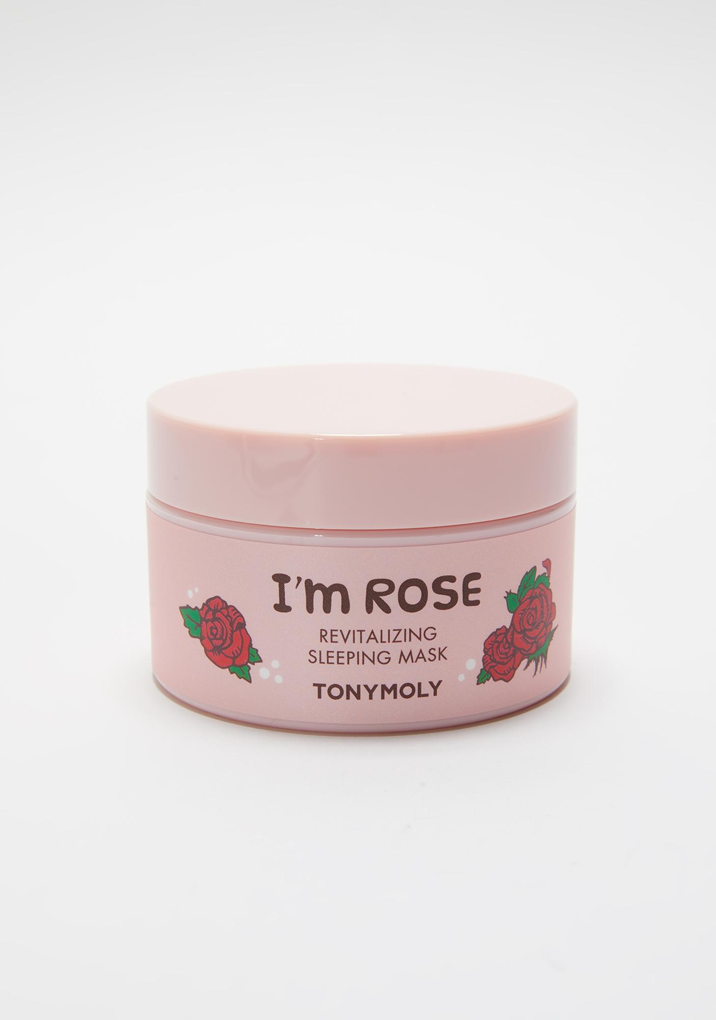 TONYMOLY I'm Rose Revitalizing Sleep Mask